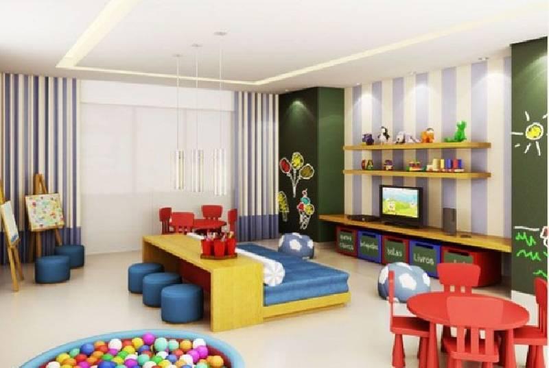Petite salle de jeux à thème